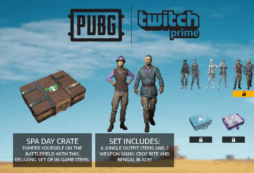 PUBG Ücretsiz Twitch Prime Skini Alma !   Global Klavye