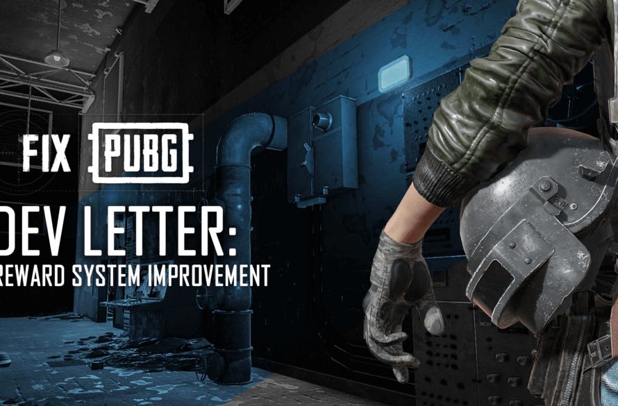 PUBG'den Mektup: Ödül Sistemi Geliştirmeleri!