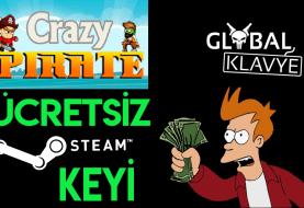 Ücretsiz Crazy Pirate Steam Key'i