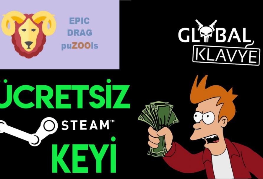 Ücretsiz Epic drag puZOOls Steam Key'i