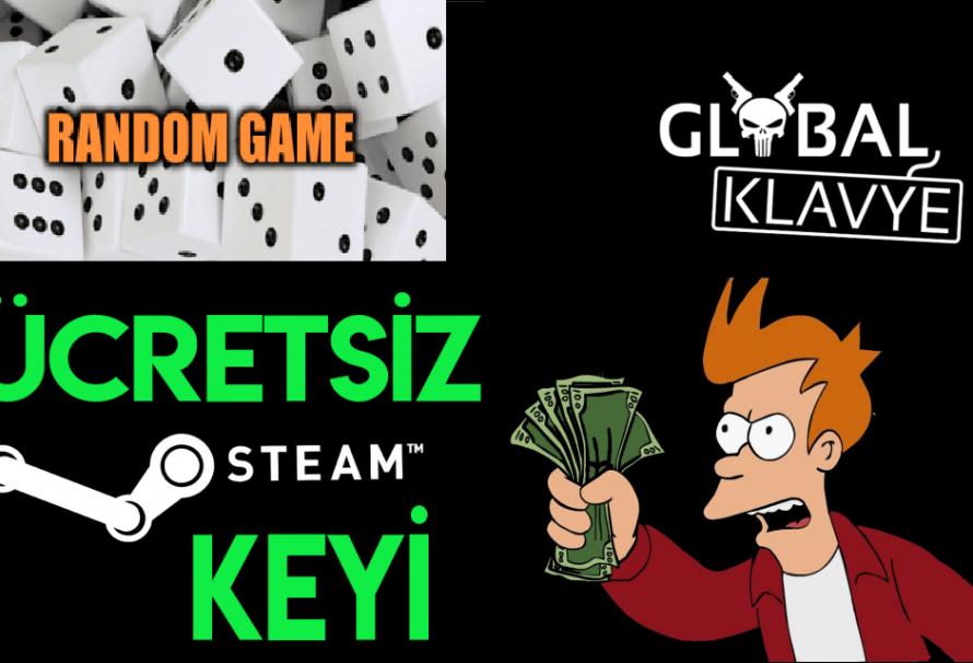 Ücretsiz Random Steam Key'i