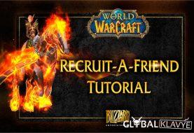 World of Warcraft'ın Recruit-A-Friend Uygulaması Değiştiriliyor
