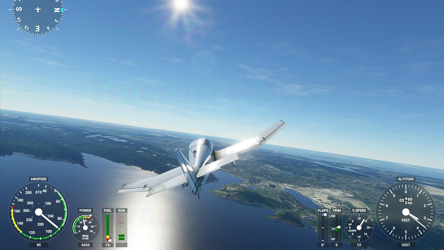 Microsoft Flight Simulator oyunu